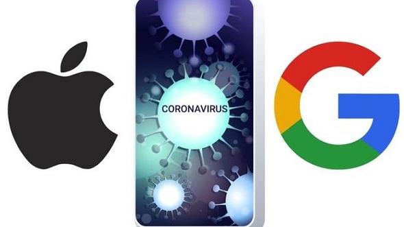 شراكة بين أبل وجوجل لمكافحة الكورونا