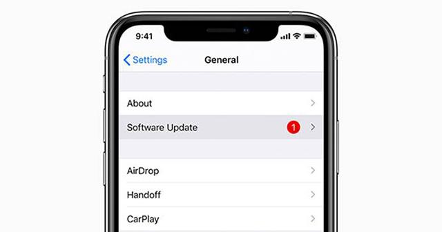 تحديث الهاتف إلى آخر إصدار من نظام التشغيل