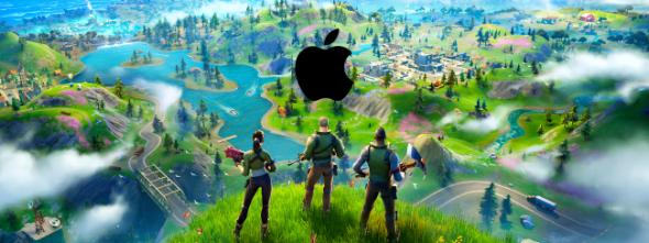 apple and fortnite drama