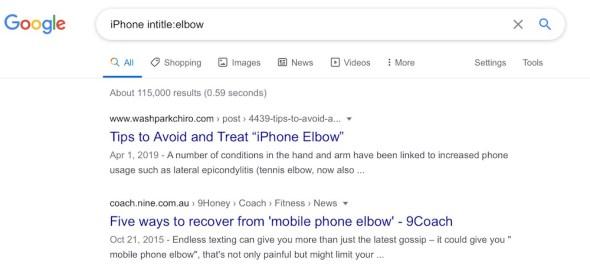 iPhone-Elbow