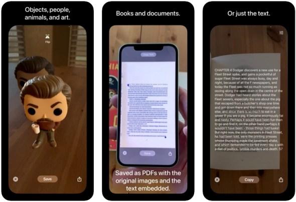 Isang kamangha-manghang Scan Thing app