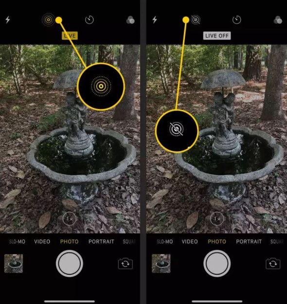 طريقة كتم صوت كاميرا الايفون اثناء التصوير