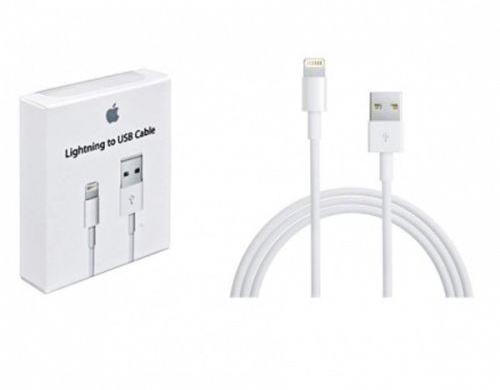 carregador cabo usb lightning 8 pinos para iphone, ipad, ipod