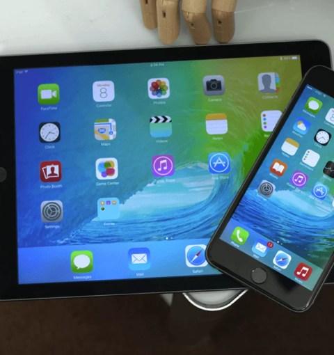 iPhone и iPad на iOS 9