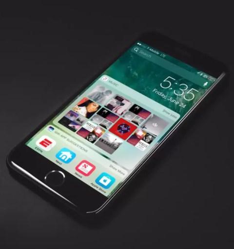 iPhone 7 с iOS 10