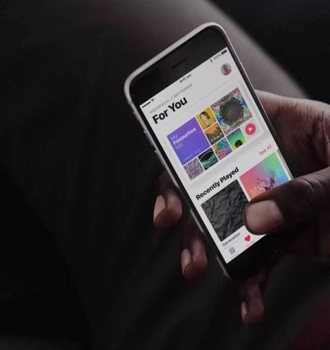 Apple Music на iPhone