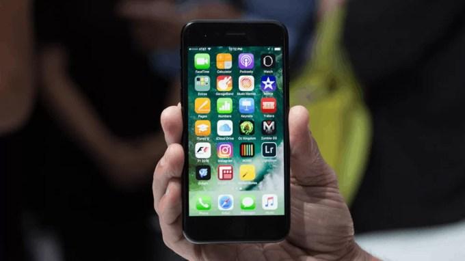 iOS 10 на iPhone 7
