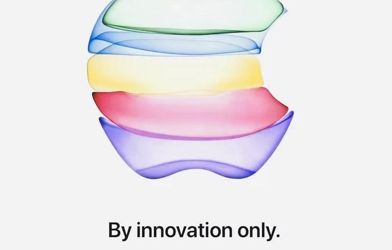 Приглашение на презентацию Apple 2019