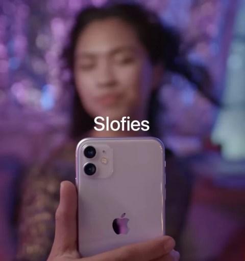 Презентация Slofie на iPhone 11