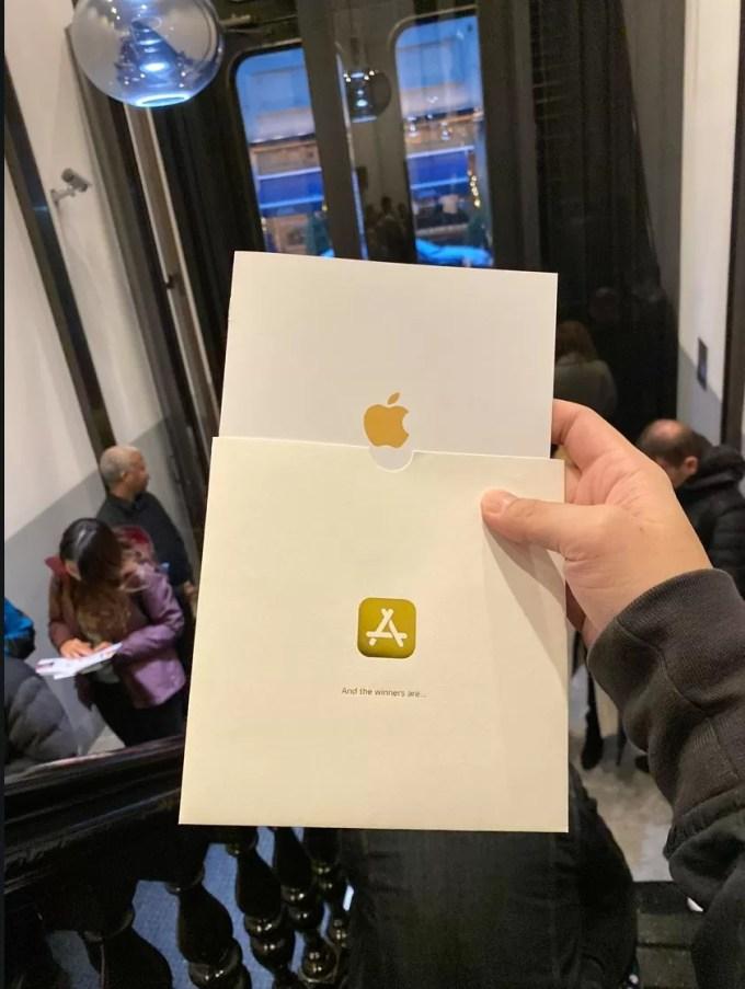 Приглашение на мероприятие Apple 3 декабря 2019 года