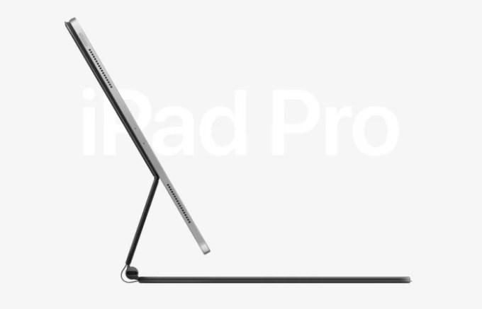 Новый iPad Pro 2020 с клавиатурой
