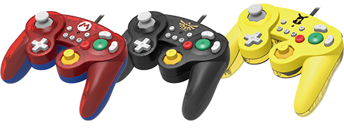 Nintendo Switch GameCube controllers