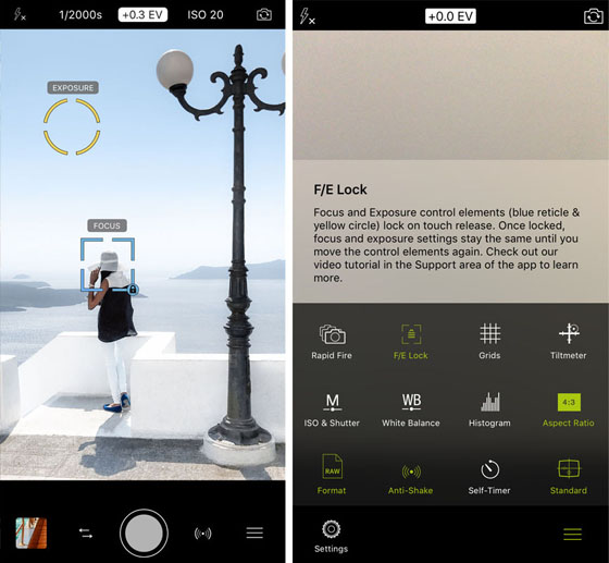Best Camera App For iPhone ProCamera