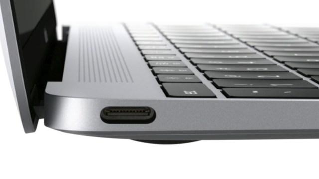 Puerto USB-C del MacBook