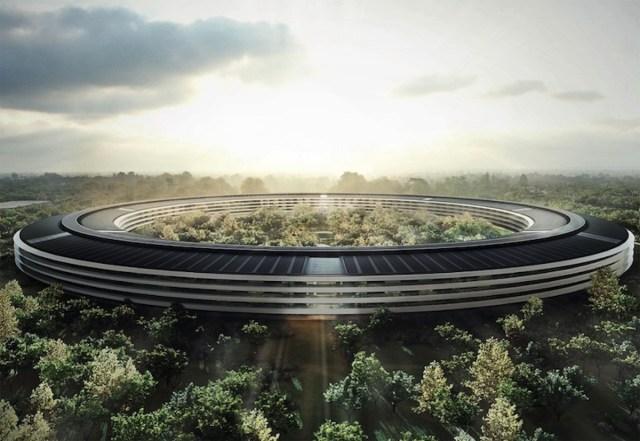 Nave espcial o nuevas oficinas de <stro data-recalc-dims=