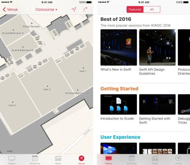 App de la WWDC 2017