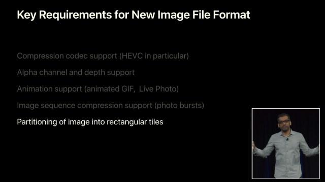 Formatos de imagen y video HEVC y HEIF