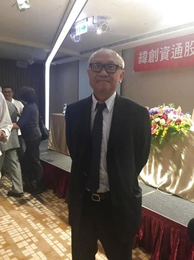 Robert Hwang, CEO(Director-Ejecutivo) de Wistron