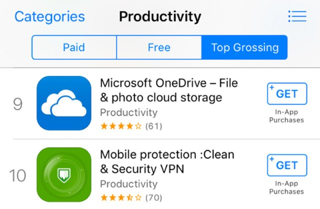 Estafas en la App Store