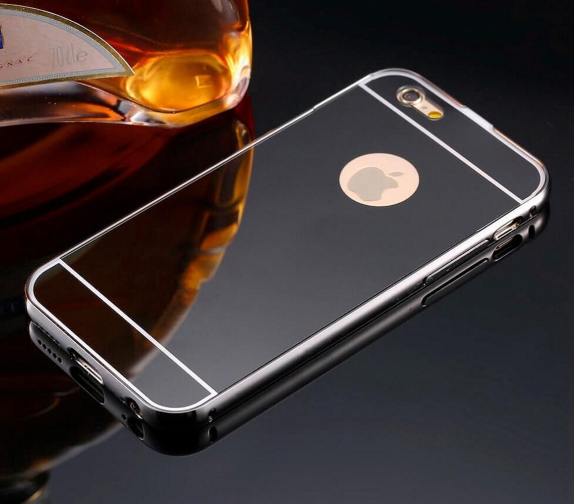 Ejemplo de cómo podría quedar un iPhone Pro plateado