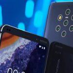 Nokia 9 Pureview con cinco cámaras traseras