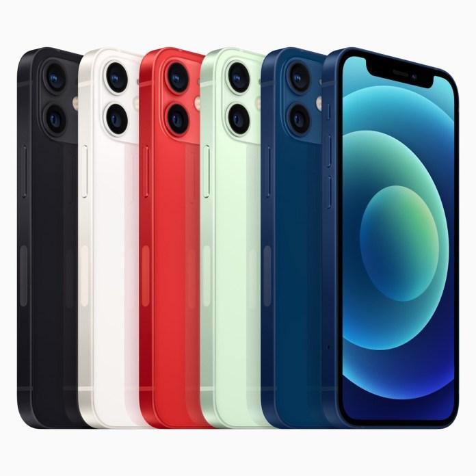 iphone 12 mini colors apple