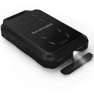 RAVPower Rugged Powerbank 10.050mAh