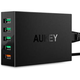 Aukey PA-T15 Oplaad Station met Qualcomm Quick Charge 3.0