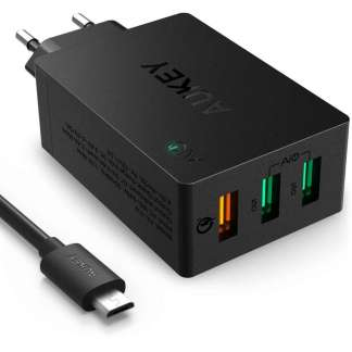 Aukey PA-T14 Qualcomm Quick Charge 3.0 thuislader 43.5W