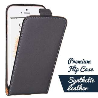 Just in Case Elegant flip case iPhone 5/5S/SE (Zwart)