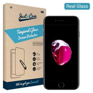 Just in Case Tempered Glass iPhone 8/7