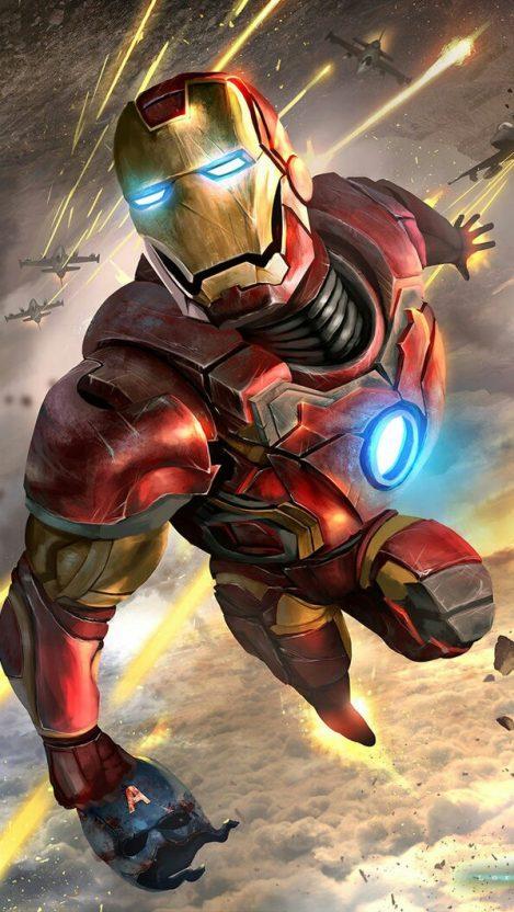 Avengers War Spider Iron Infinity