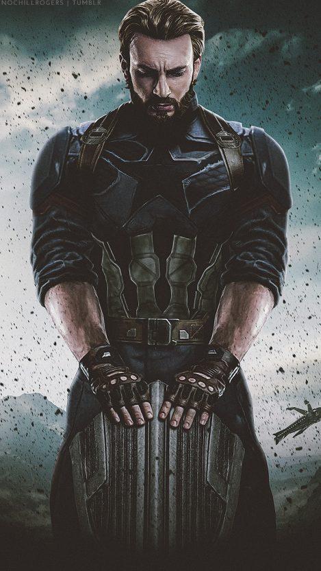 Captain America Avengers Infinity War Iphone Wallpaper