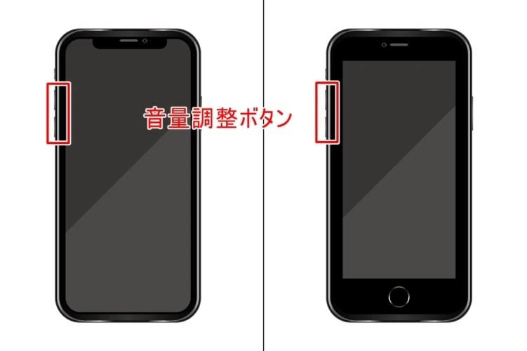 音量 iphone アラーム