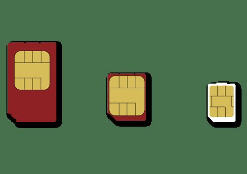 格安SIMカードには3つの種類があるiPhoneに合う格安SIMの種類