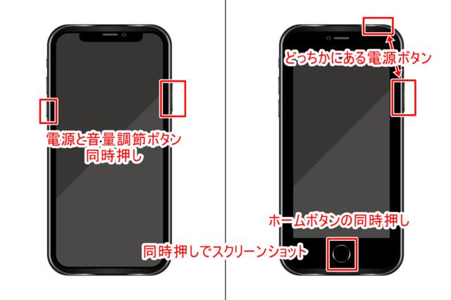 iPhoneのスクリーンショットを撮る01
