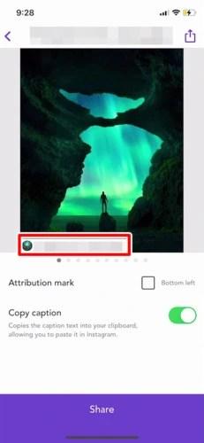 アプリでInstagram(インスタグラム)の画像を保存する (6)