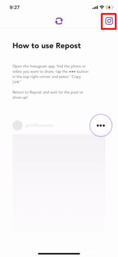 アプリでInstagram(インスタグラム)の画像を保存する (1)