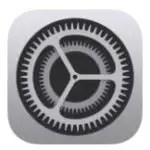Значок настроек iOS
