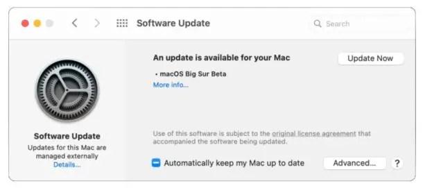 MacOS Big Sur Beta Скачать