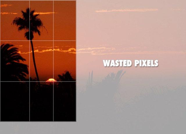 """Tente não cortar as fotos. Obtenha o """"corte"""" direito na câmera para salvar pixels preciosos."""