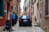 The streets of Rovinj, Croatia