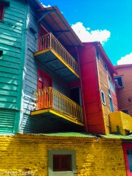 Colorful houses of La Boca, Buenos Aires