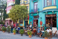 Colorful Cafes and Restaurants in Sultanahmet