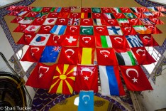 Flags at the Grand Bazaar