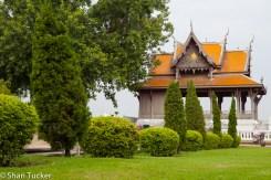 Park near Phra Sumeru Fortress