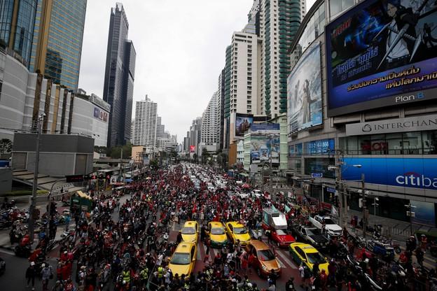 Protest w Bangkoku