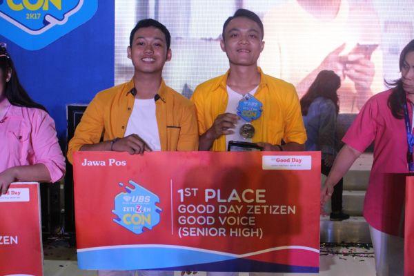 Ketua Umum PC IPM Besuki Berhasil Menjadi Juara dalam UBS Zetizen Convention 2K17