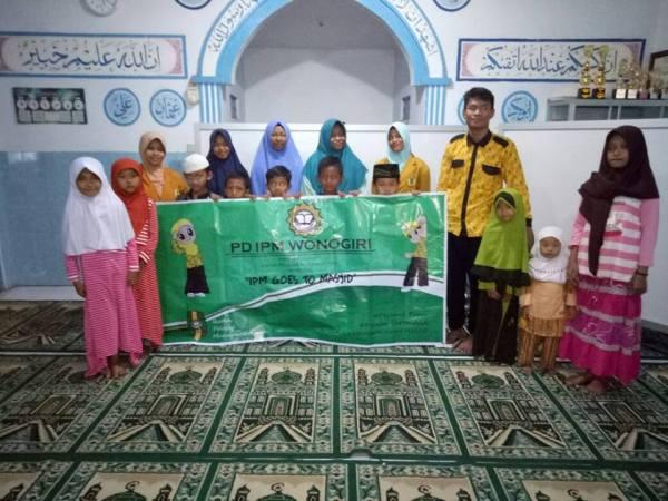IPM Goes to Masjid, Cara Perkenalkan IPM Sejak Dini
