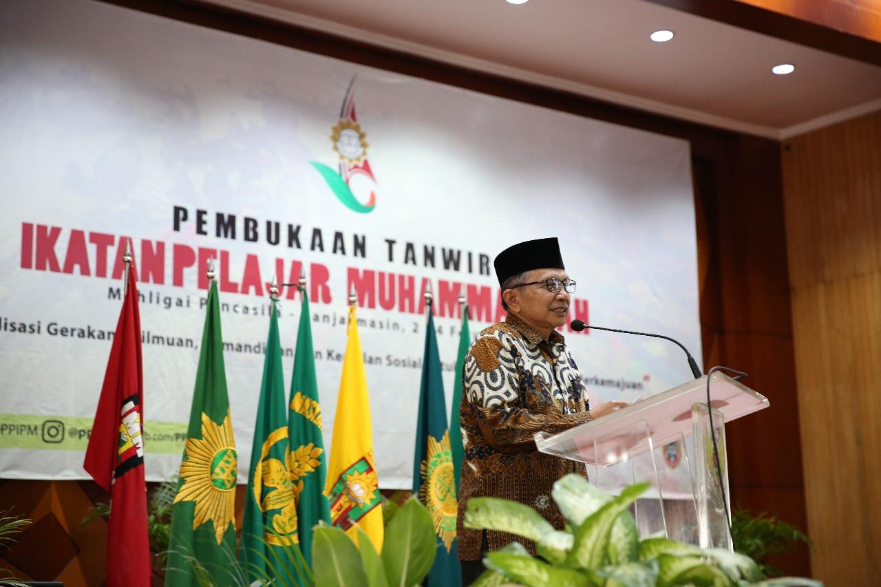 Sifat Pandu Harus Dimiliki oleh IPM, Amanah Mencerahkan Dahlan Rais Mengawali Tanwir IPM 2018